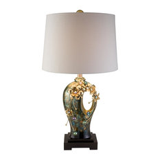 OK Lighting   Virgo Orchid Table Lamp   Table Lamps