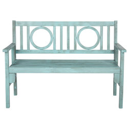 Farmhouse Outdoor Benches by Safavieh