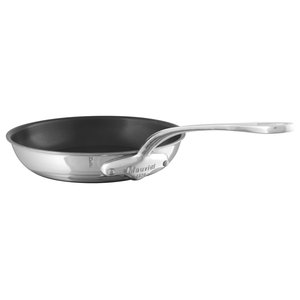 Mauviel M'Cook Non-Stick Stainless Steel Handle Frying Pan, Small