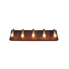 48 inch bathroom vanity light. wine country craftsman - rustic, \ 48 inch bathroom vanity light i
