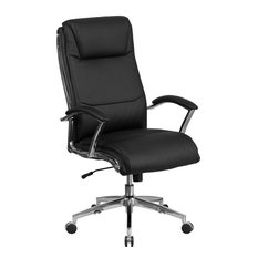 Leather Office Chair, Black
