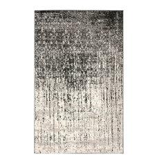 Safavieh Retro Collection RET2770 Rug, Black/Light Grey, 5' X 8'