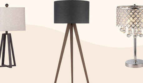 Up to 75% Off Floor and Table Lamps