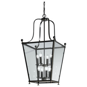 Atrio Ironwork 8-Light Lantern, Bronze