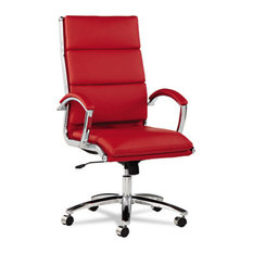 alera alera neratoli series highback swiveltilt chair red soft leather
