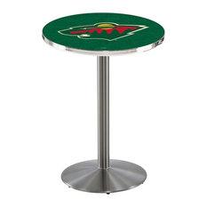 Minnesota Wild Pub Table 28-inchx42-inch