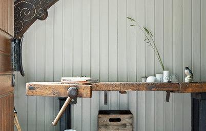 Rustikaler Charme: Werkbänke erobern den Wohnraum