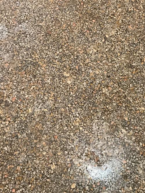 Grey Terrazzo Flooring