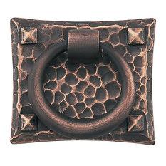 Emtek 86040 Arts and Crafts 1-3/4 Inch Long Ring Cabinet Pull