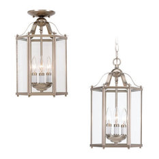 sea gull lighting bretton 3light pendants in brushed nickel outdoor hanging lights