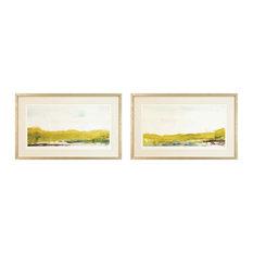 Shorline Bliss Framed Art Print