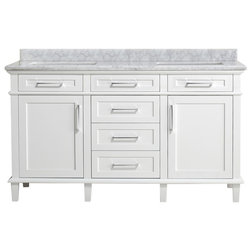 Great Transitional Bathroom Vanities And Sink Consoles Newport Bathroom Vanity Set White Double