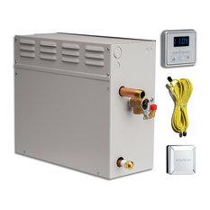 EliteSteam 15kW Steam Shower Generator Kit, Brushed Nickel