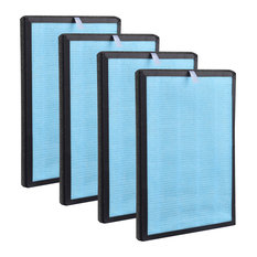 Yescom 4 Pack 3 Layer Replacement H13 HEPA Filter for Yescom UV Air Purifier