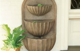 Fluted Bowl Fountain