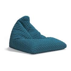 Innovation Living - PLAYER coz bleu Pouf fauteuil INNOVATION design - Repose-pieds, Pouf et Cube