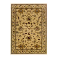 Oriental Weavers Amelia Oriental Ivory and Green Rug