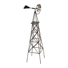 Made in the Philippines - Vertical Windmill for Miniature Garden, Fairy Garden - Decorative Objects and Figurines
