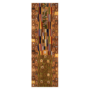 "New Wave Hand-Tufted Rug, Multi, 2'6""x12' Runner"