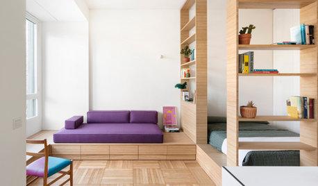 Guarda Come è Diventato un Monolocale Flessibile a Milano