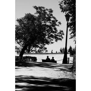 """Waiting"" Photo Print, Aluminium, 40x60 cm"