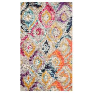 Vistoso Woven Rug, Multicoloured, 121x170 cm