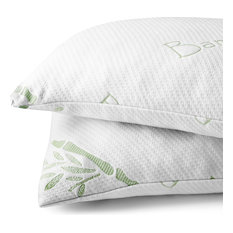 Bare Home Shredded Memory Foam Pillow, Set of 2
