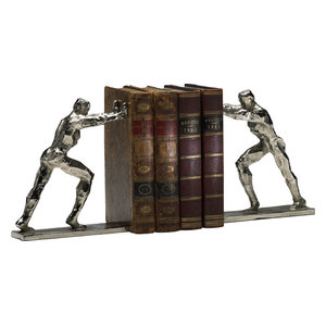 Gorgeous Set Of 2 Man Woman Bookends Contemporary Bookends By Benzara Woodland Imprts The Urban Port