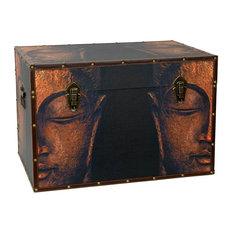 Gentil Oriental Furniture   Buddha Storage Trunk   Decorative Trunks