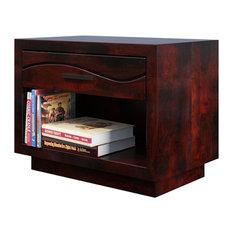 Santa Barbara Solid Wood 1 Drawer Nightstand