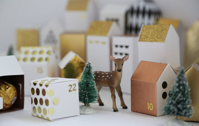 Make Your Own Mini Advent Village