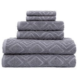 Contemporary Bath Towels by Salbakos