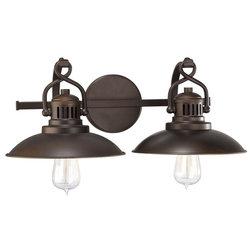Industrial Bathroom Vanity Lighting by Seldens Furniture