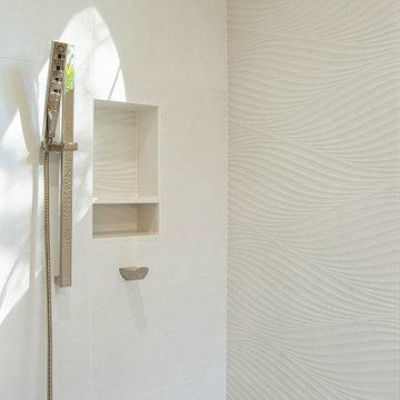 Contemporary Spa Master Bath Oasis
