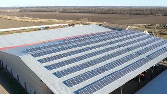 Сетевая солнечная электростанция 120 кВт