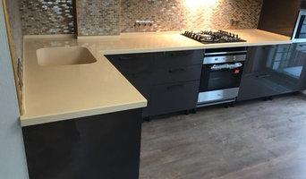 Столешницы из искусственного камня в кухню