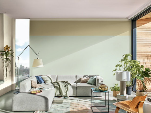 Modern Living Room by Dulux