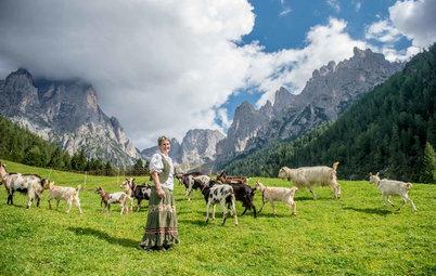 My Houzz: La Signora della Malga ai Piedi delle Montagne
