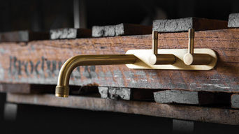 Brodware Yokato Wall Set in Weathered Brass