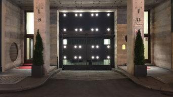 """""""Cancello illuminante"""""""