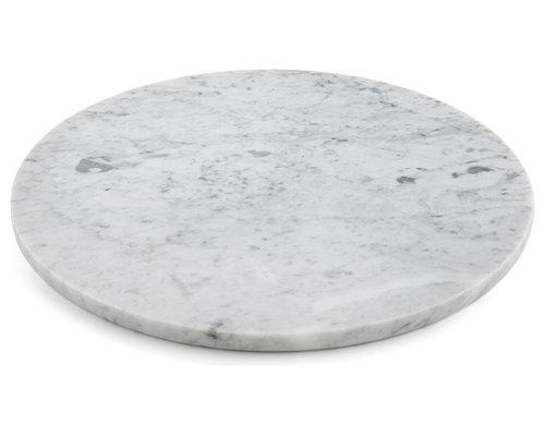 Marble - Round Slab - Decorative Plates