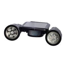 Solar Powered Security Two Super Bright Spot Lights with Motion Detector