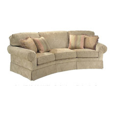 Corner Sofa w Semi-Attached Back (Fabric: Amb