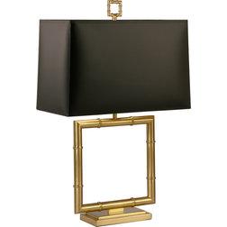 Great Table Lamps Jonathan Brass Adler Meurice Table Lamp Black