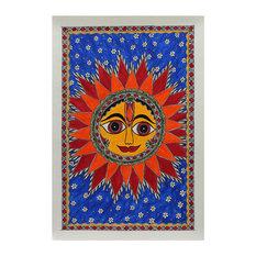 Royal Sun Madhubani Painting
