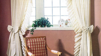 Country Ruffled Curtains