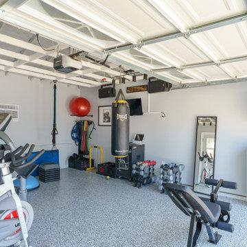 Garage Conversion to Home Gym in Hawthorne
