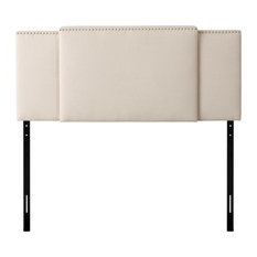 CorLiving Fairfield 3-in-1 Expandable Panel Headboard, Cream
