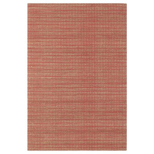 Ranger Brick Red Rectangle Plain/Nearly Plain Rug 100x150cm