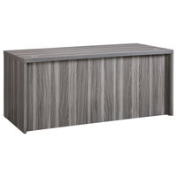 "Mayline Aberdeen 60"" Rectangular Desk In Gray Finish ARD6030LGS"
